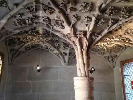 レアールにある中世の遺跡「ジャ...